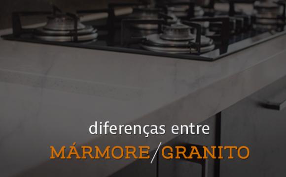 Diferenças entre Mármore e Granito